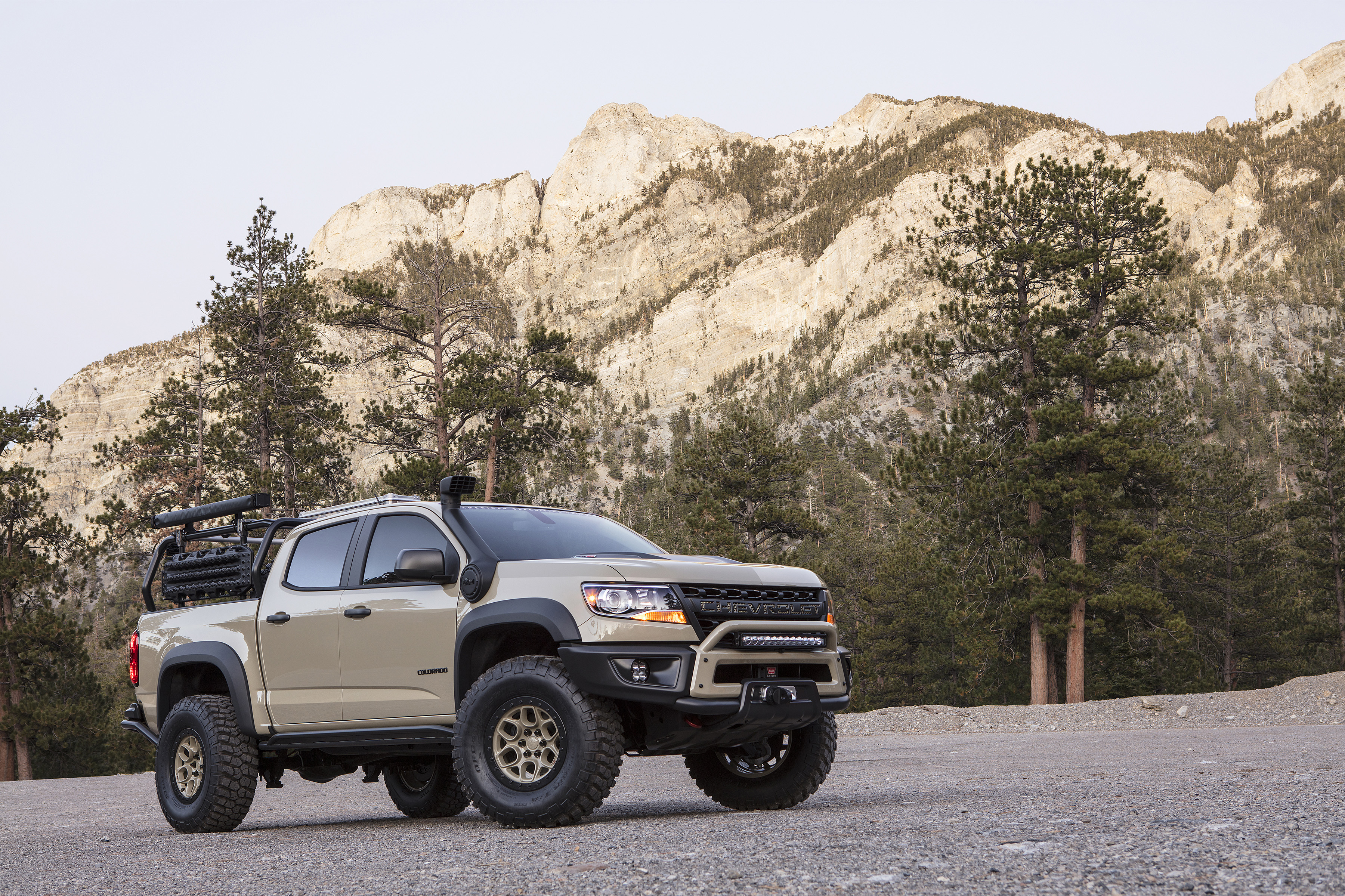 Colorado Zr2 Concept And Development Truck Take Capability To The Next Level